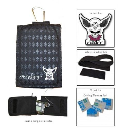 Boys Skulls Value Pack for Insulin Pumps Subtle and cook - this case looks great. www.radrr.com