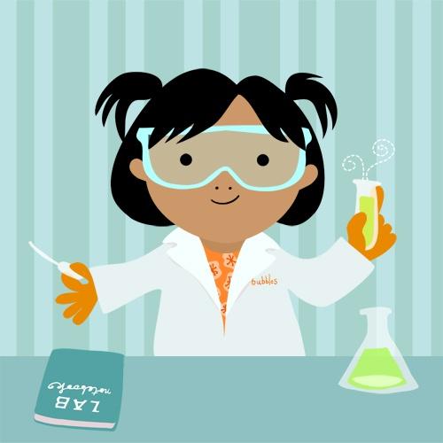 chemistry girl