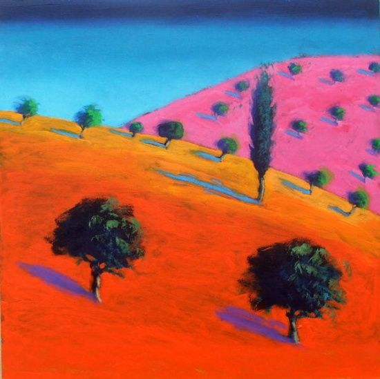 Image: Paul Powis - Pink Hill