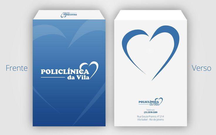 Envelope Ofício - Policlínica da Vila