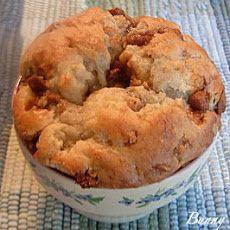 Banana Cinnamon Toffee Chip Muffin