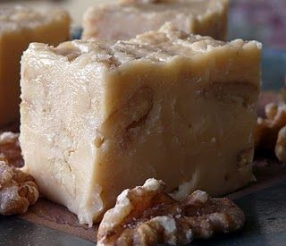 Dedicated to my sweet mom, for whom I used to bake and send trays of maple fudge at Christmas time after I moved away from home. #maple #fudge #cooking #food #dessert #candy #Canadian #Canada
