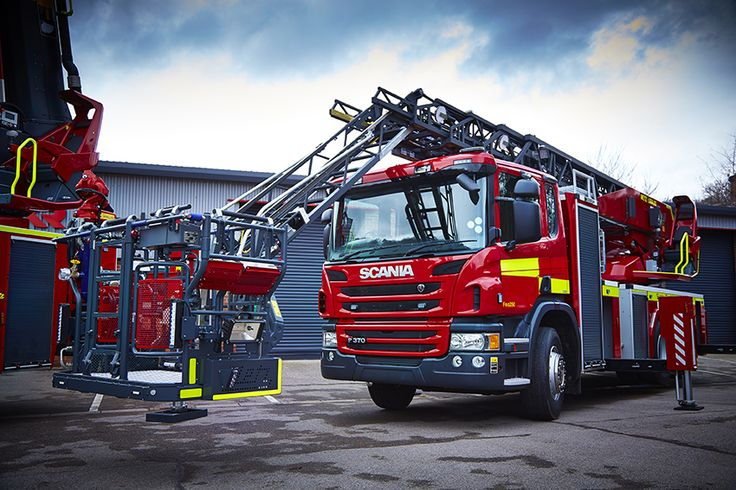 Turntable Ladders - Rosenbauer, leading fire fighting vehicle manufacturer