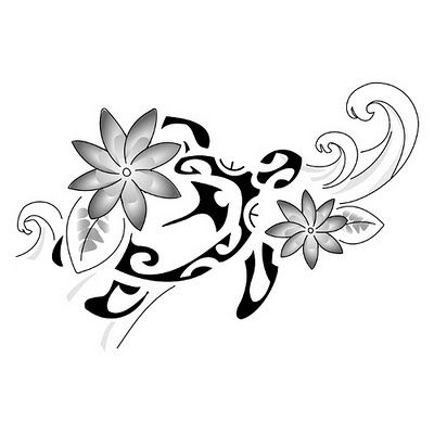 Hawaiian Flower Tattoos And Their Meanings   maori tattoo designs -polynesian flower tattoo