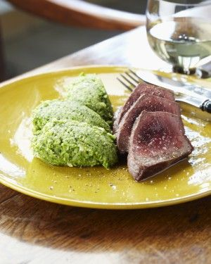 tournedos van rundvlees met broccoli - Pascale Naessens