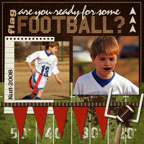 Flag Football - Scrapbook.com