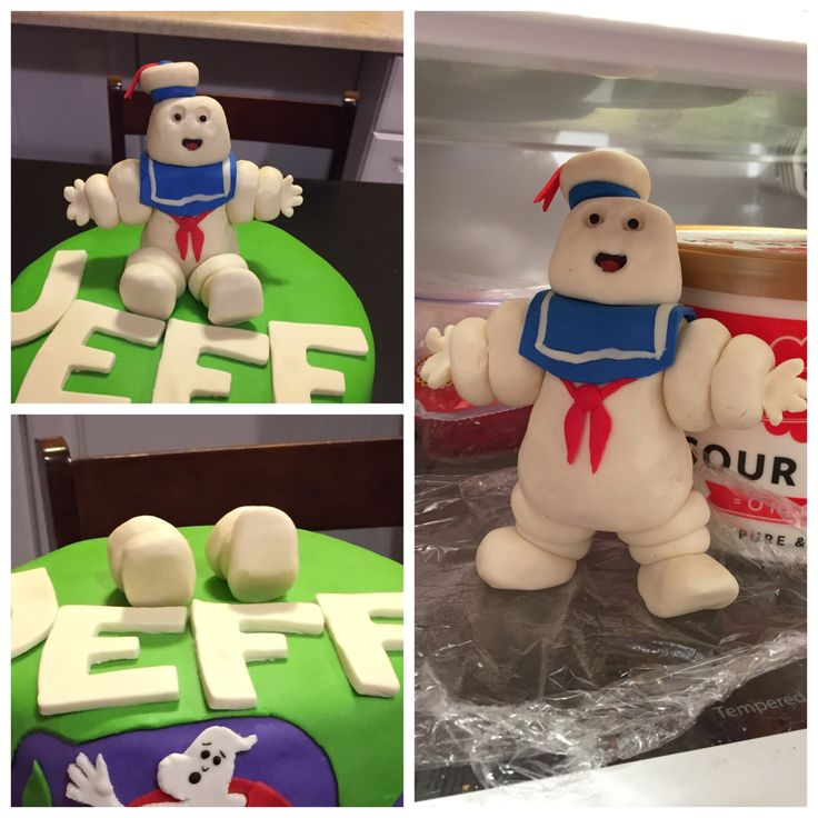 Stay Puft Marshmallow Man figure. Found a good image to