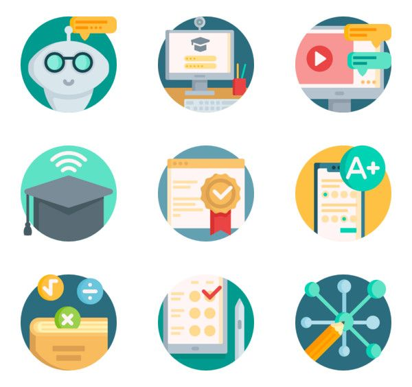 Online Learning Icon Png