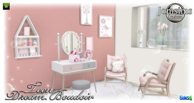 Dream Boudoir at Jomsims Creations • Sims 4 Updates