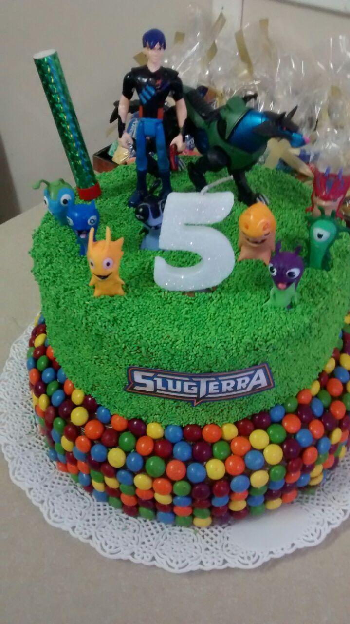 Torta Bajoterra / Cake Slugterra
