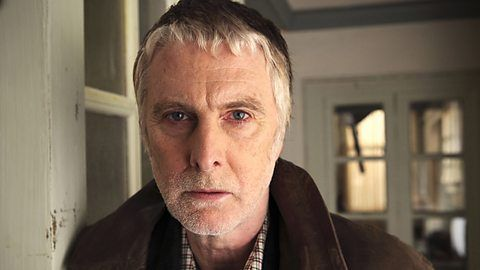 What Remains (16 Sept 2013) BBC production. David Threlfall as Len, the retired copper. David Bamber as Joe, the math teacher, aka Mr. Colins at Pride and Prejudics! Indira Varma as Elaine, the over-controlling lesbian. Lonliness, purpose of life, crime...