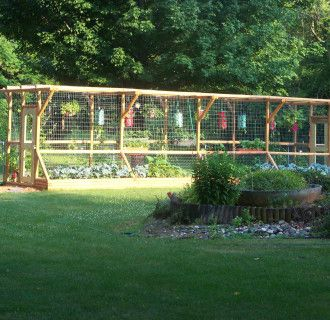 Fence small vegetable garden plans