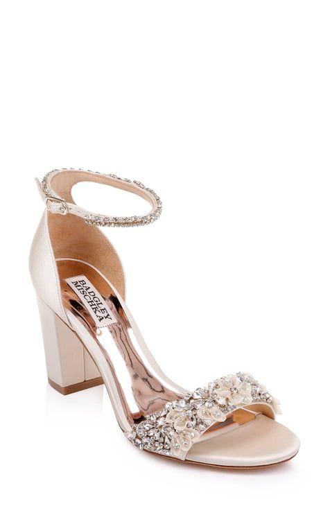 Badgley Mischka Shoes Nordstrom Bride Shoes Ankle Strap Sandals Wedding Shoes