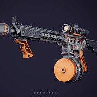 One of the weapons I got to work on for LawBreakers at Boss Key Productions. Concept made by James Hawkins https://www.artstation.com/hawkprey