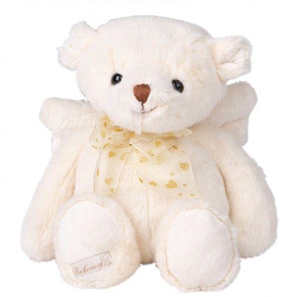 """Kuschliger Teddybär von Bukowski – der Plüschbär """"Gabriel"""" bringt garantiert jede Kinderaugen zum Strahlen. Ideale Geschenkidee! Jetzt online bestellen und bequem liefern lassen."""
