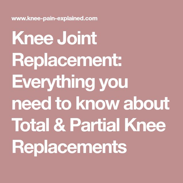 Knee Joint Replacement: Everything you need to know about Total & Partial Knee Replacements