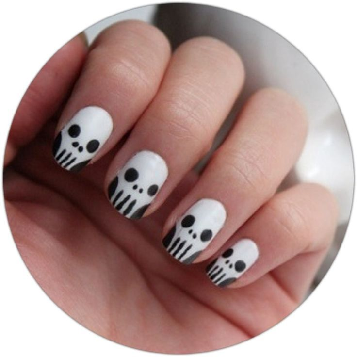 Nail Art for Halloween | Young Craze | Nails | Pinterest