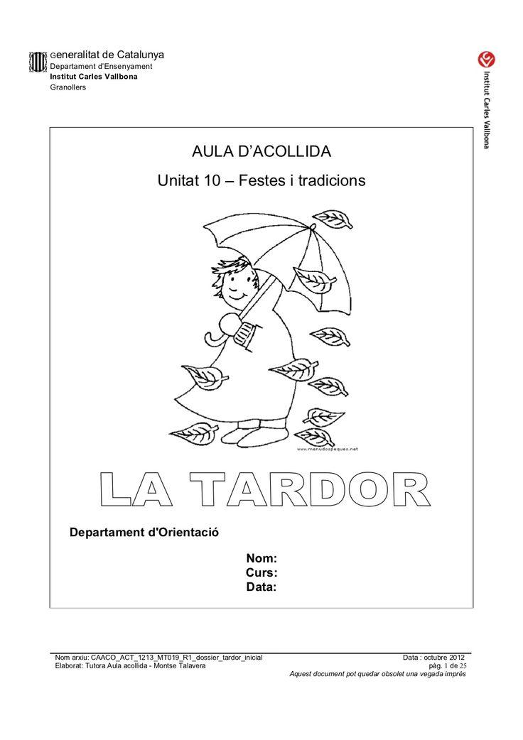 Caaco act 1213_mt019_r1_dossier_tardor_inicial by mtalaverxtec via slideshare