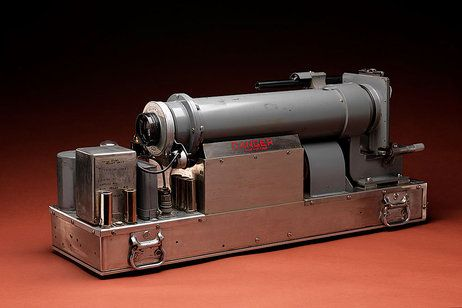 High-speed rapatronic camera, manufactured by Edgerton, Germeshausen and Grier Inc. Boston.