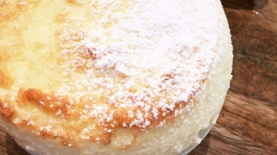 James Martin's instant soufflé with toffee bananas