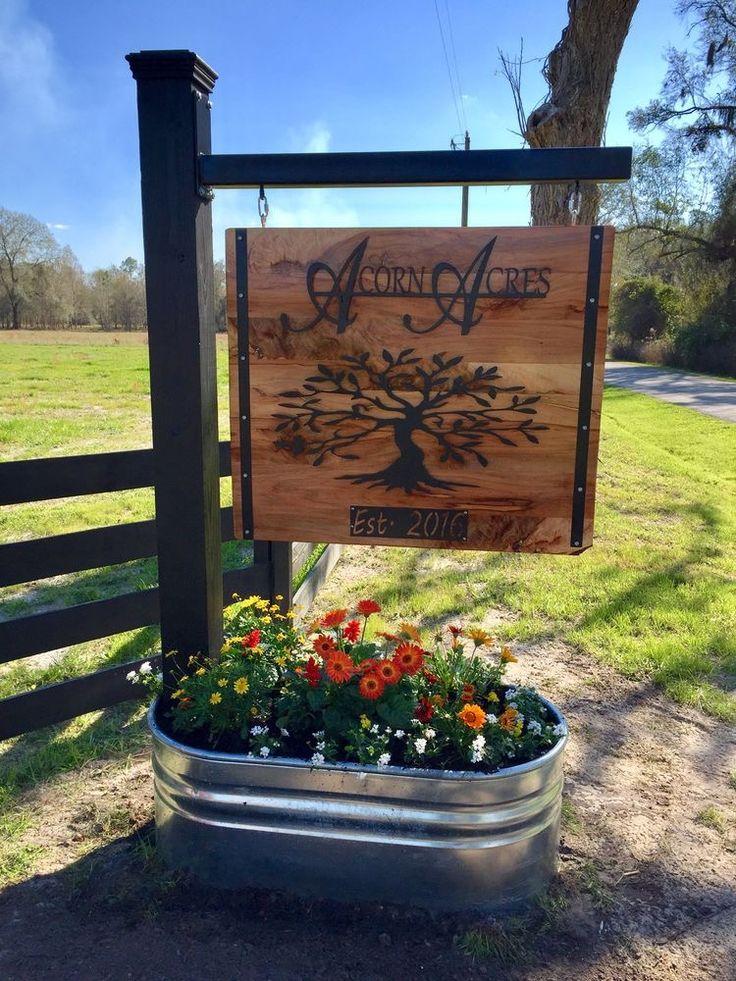 Farm Entrance Signs