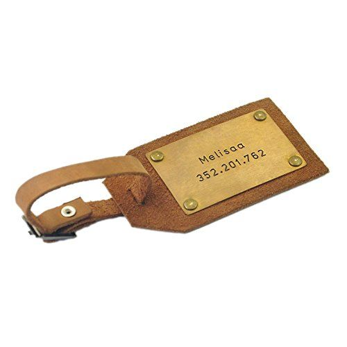 #Custom #Leather #Luggage #Tag, #Personalized #Leather #Luggage #Tag #Mens #Gift #Husband #Gift Traveling is stressful enough, why not make it just a little bit easier by having your own #personalized #leather #luggage #tag. This rustic #leather #luggage #tag is unique This #luggage #tag can be engraved on 2 sides https://travel.boutiquecloset.com/product/custom-leather-luggage-tag-personalized-leather-luggage-tag-mens-gift-husband-gift/