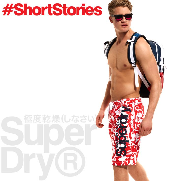 Turn heads with our Hawaiian print boardshorts. Get beach ready this summer >> http://www.sdry.co/1KsVhws