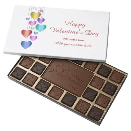 Sweet Custom Valentine's Day Assorted Chocolates - tap, personalize, buy right now!