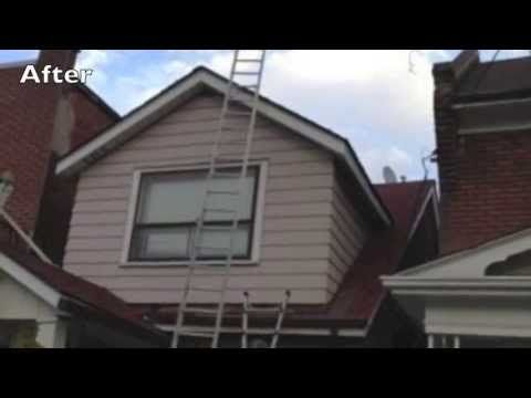 latest video before and after roof repairs...