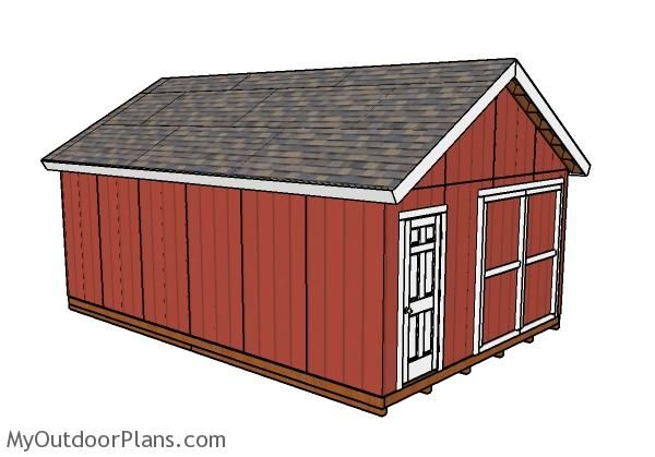 17 Best Images About Outdoor Shed Plans Free On Pinterest