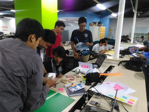 Konsep design thinking jadi topik utama Workshop IoT Academy Compfest 8!