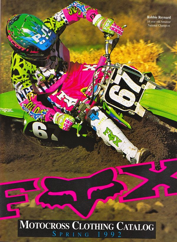 For this edition of Moto Gear History, we are going to look back at Fox Racing in the decade of the nineties. For this edition of Moto Gear History, we are going to look back at Fox Racing in the deca