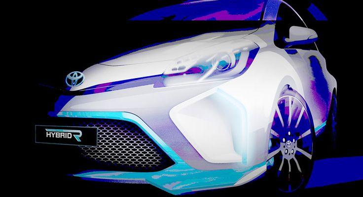 Toyota Hybrid R Siap Tampil di Frankfurt Motor Show 2013