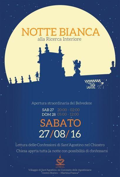 Notte Bianca alla Ricerca Interiore - Martina Franca -          il Tacco di Bacco