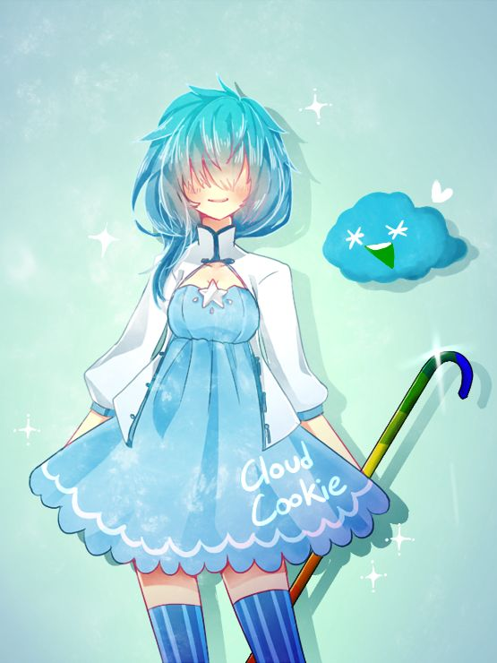 Cookie run-Cloud cookie by DarkBamboo.deviantart.com on @deviantART