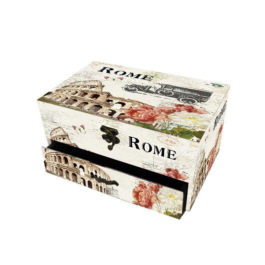 Συρταριέρα με 2 συρτάρια Rome,  Τιμή: €15,90, http://www.lovedeco.gr/p.Syrtariera-me-2-syrtaria-Rome.845074.html