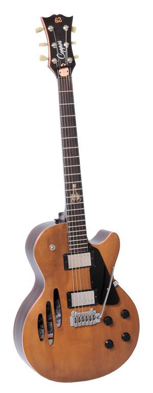 Guitare Copper - Guitare Gaucher Arch-top
