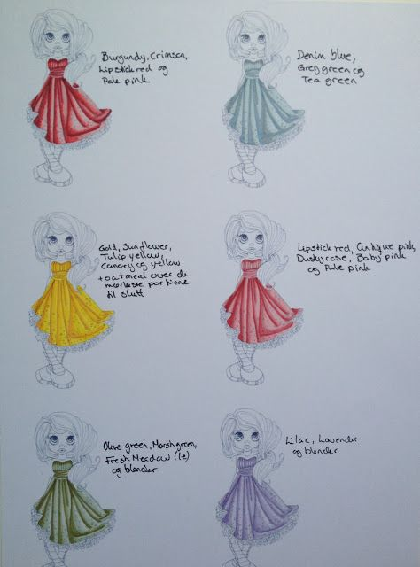 Promarker dress colours 2