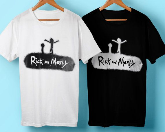 Art shirt Rick and Morty Funny shirt T-shirt by RaveStudioDesigns