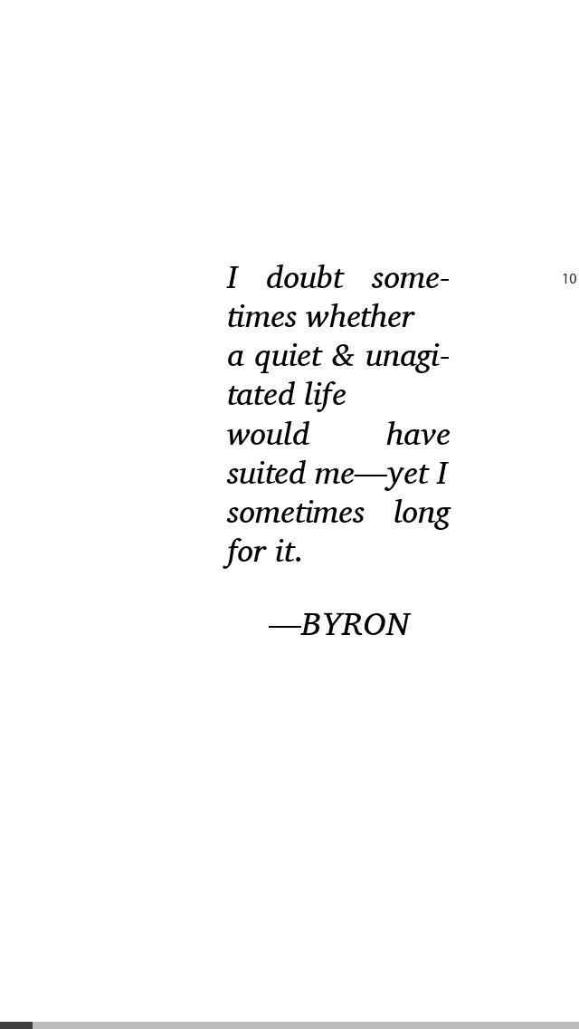 Lord Byron. Bipolar disorder. Manic depressive illness.
