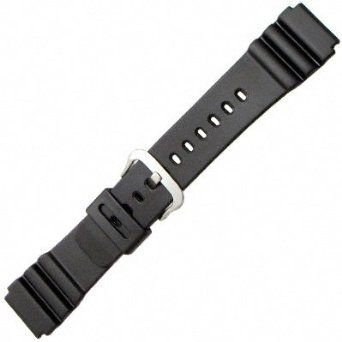 Casio 22mm Black Resin-Marine Gear