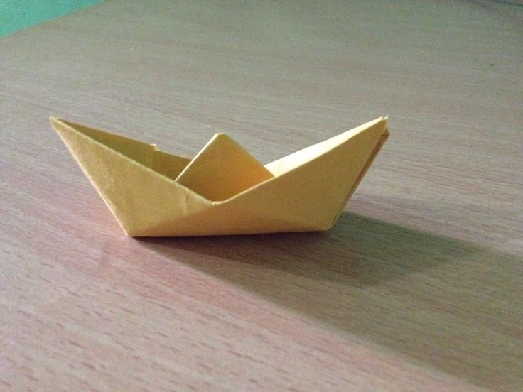 How to make a boat? - Paper boat / Origami boat