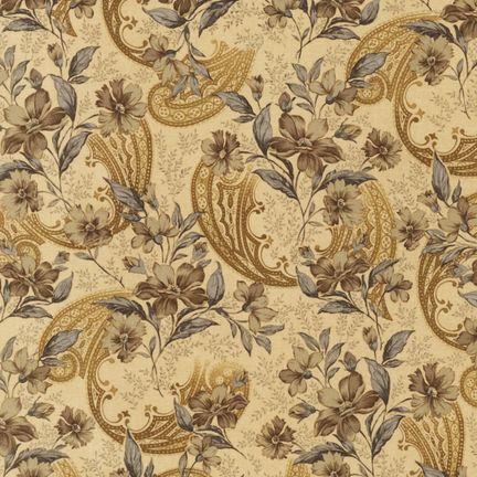 Robert Kaufman Fabrics: EHJ-10413-200 VINTAGE from Mademoiselle