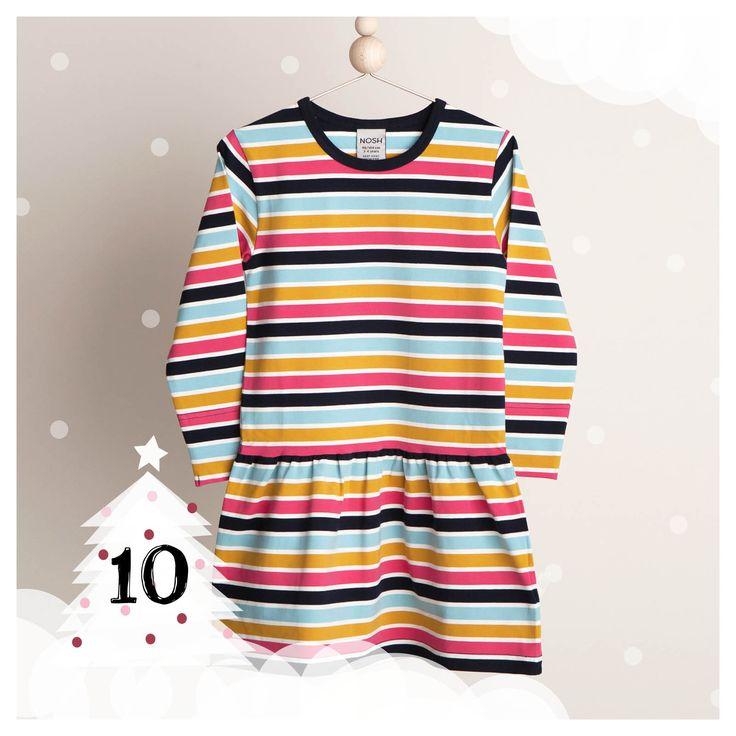 NOSH.FI - Iloista Joulua! -sivulla joulukuussa päivittäin uusia tarjouksia! Ihana multiraitainen Frilly mekko hintaan 18,90€! Tarjoushinta on voimassa niin kauan kuin tuotteita riittää! Tilaa nyt edustajaltasi tai verkosta. (Available only in Finland)