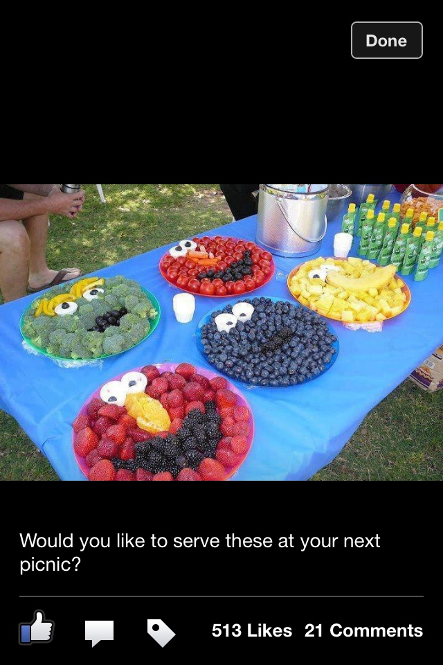 Healthy Elmo party