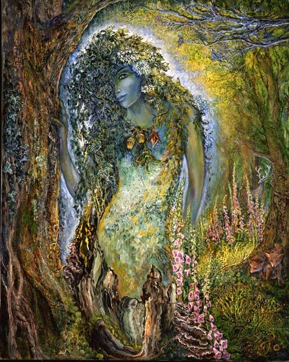 Josephine Wall -- one of my favorite 'fantasy' artists