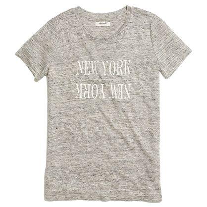 Linen New York New York Tee