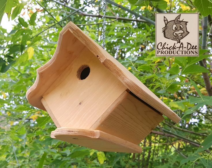 Adorable Hanging Birdhouse:  I love just hanging out!  Click me and we can chill back at my place :)