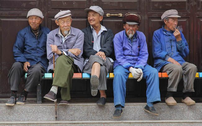 China's elderly populated is expected to climb to 240 million by 2020, meaning about 17% of the population will be older than 60. This strain on the healthcare system and reduction in the number of