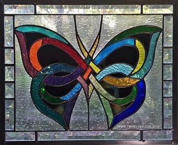 Resultado de imagen de Butterfly Stained Glass Patterns #StainedGlassDragonfly